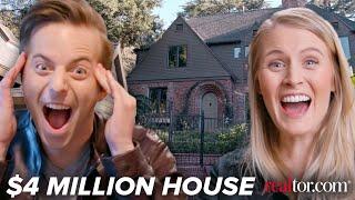 Couple Tours A $4 Million Dollar Dream House • Ned & Ariel