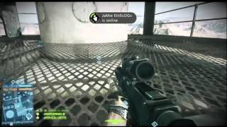 BF3 Glitches - Tower Wallbreach Invinsibilty Glitch on Operation Firestorm