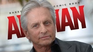 AMC Movie Talk Michael Douglas Stars In ANT-MAN! MAGIC
