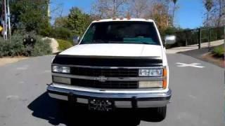 Dually Chevy 3500 Pickup Truck 1 Ton Custom 2 Owner 95K Mi