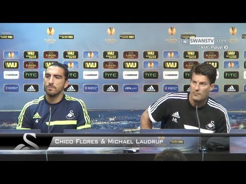 Swansea City Video: Chico and Laudrup's Valencia preview