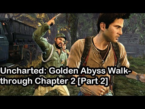 Uncharted: Golden Abyss Walkthrough Chapter 2 [Part 2] (PS Vita) - PSVita Vlog 14