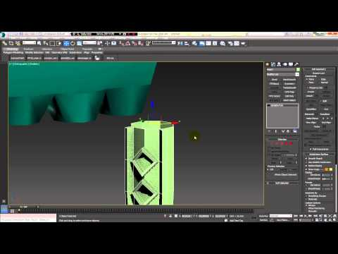 3Dmax poly modelng sprut octopus. part.1. МОДЕЛИМ ОСМИНОГА ЧАСТЬ 1 Di-box