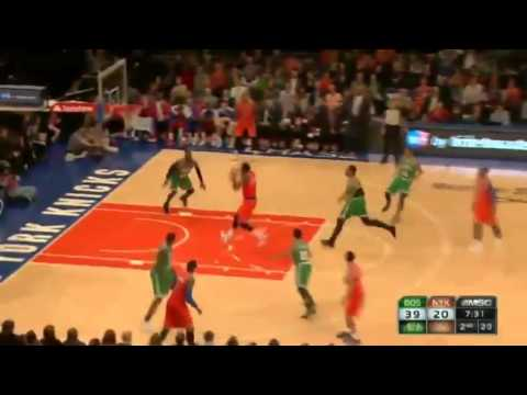 Prigioni's BEAUTIFUL Dime   Boston Celtics vs New York Knicks   December 8  2013   NBA 2013 14