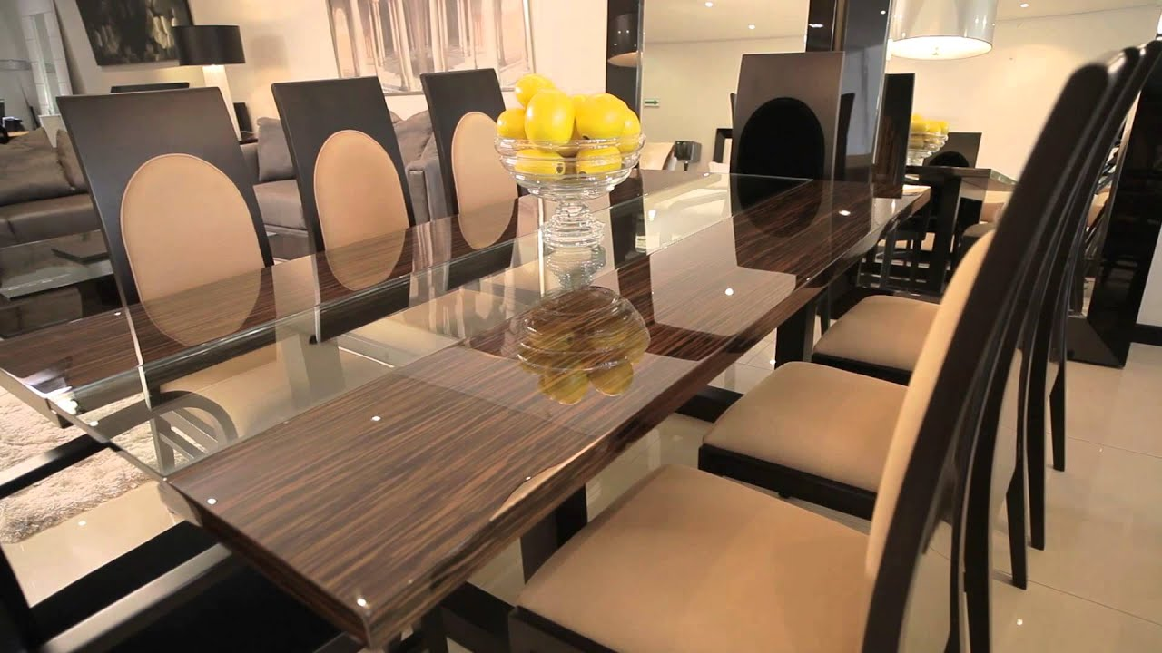 Comedores y muebles de lujo by fernando garc a youtube - Muebles para comedores ...