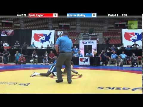 74 KG - David Taylor vs. Quinton Godley