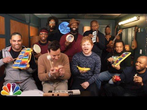 Jimmy Fallon, Ed Sheeran & The Roots Sing