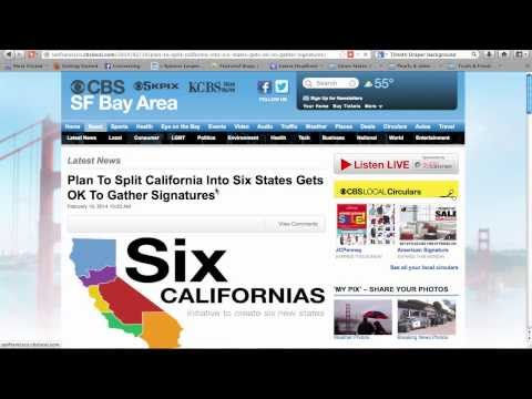 Breaking California: The Globalist Proposal: A Sand 2 Pearls Special Report