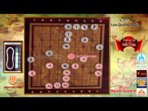 Trạng Cờ Đất Việt 2015 - Vòng 1-16 - Nguyễn Quang Nhật 3 - 1 Lưu Quang Tuyên