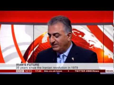 IRAN'S FUTURE - BBC Presenter Huw Edwards Interviews Reza Pahlavi (2014)