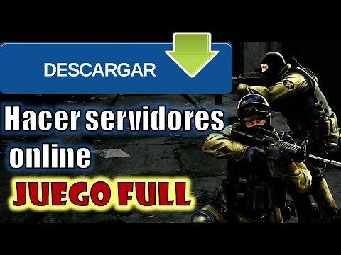Counter-Strike: Source descargar instalar jugar online hacer servidor.