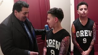 11 YEAR OLD DOES FAKE TATTOO PRANK ON DAD!!