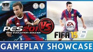 [TTB] FIFA 15 VS PES 2015 Gameplay Comparison & More