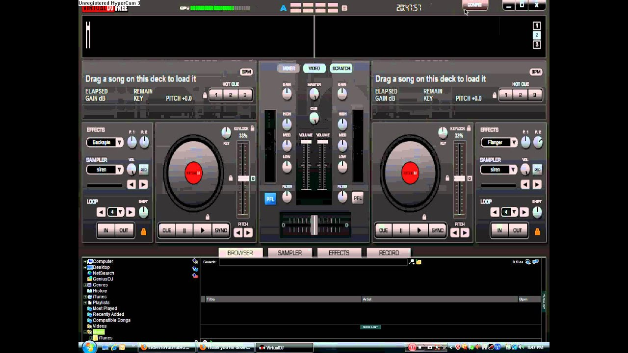 Virtual Dj Home Free Download With Tutorial