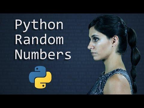 Python Random Number Generator: the Random Module - Learn Python Programming  (Computer Science)