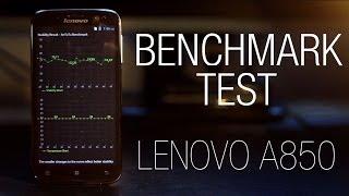Lenovo A850 Full Benchmark Test