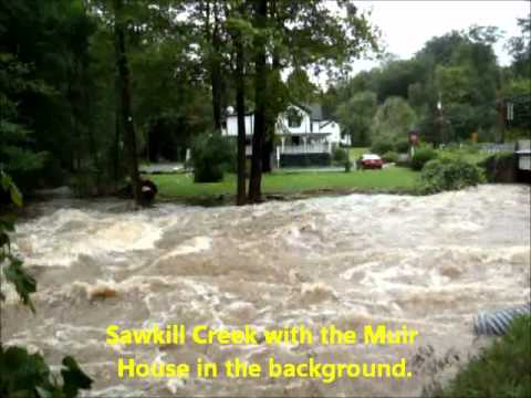 Milford's Streams after Hurricane Irene 2011