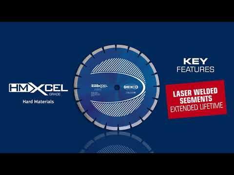Mexco Hard Materials HMXCEL Diamond Cutting Blade