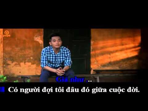 Giá Như Có Thể Ôm Ai Và Khóc [Karaoke full beat]
