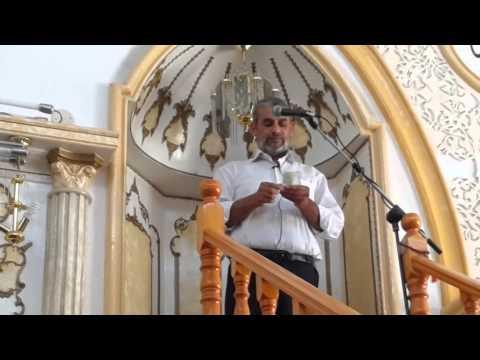 نحف خطبة الجمعه للشيخ سمير سرحان 1.8.2014