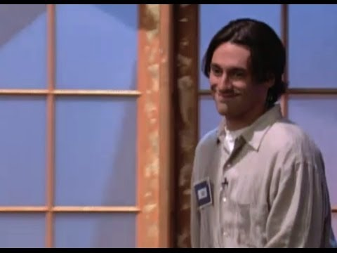 We love alumnus Jon Hamm, but we have to share this video from a dating show in the '90s!   Spoiler alert: How didn't she pick him?!?