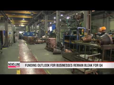 Funding outlook for businesses remain bleak for Q4