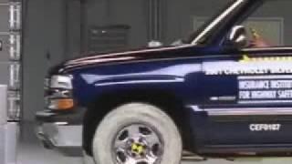 Crash Test 2007 Chevrolet Silverado 1500 Classic / 1999