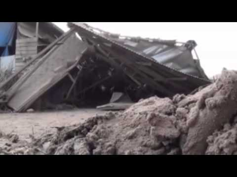 Eruption of Indonesia's Mount Sinabung volcano devastates homes and crops 7/1/2014