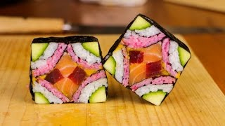 Mosaic Sushi Roll in 28 seconds - Channel trailer