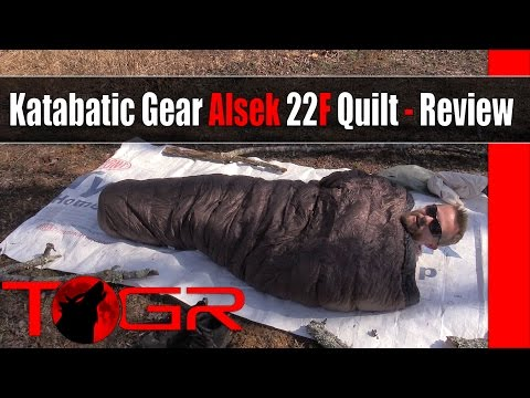Katabatic Gear Alsek 22F Quilt - Review