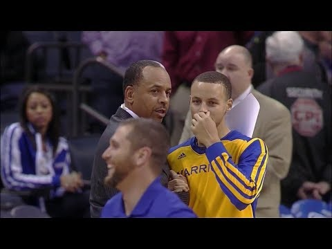 Stephen Curry Full Highlights at Bobcats (2013.12.09) - 43 Pts, 9 Assists, Homecoming