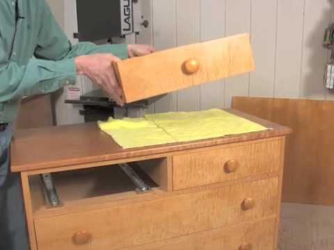 Installing Under Mount Drawer Slides Youtube