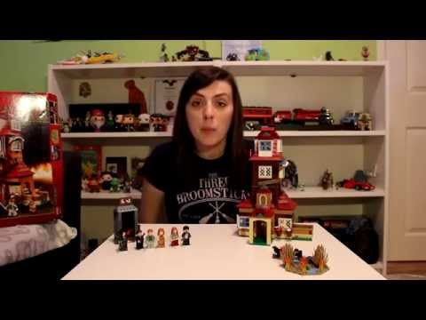 Let's build LEGO Harry Potter The Burrow 4840 Fast Build + Review