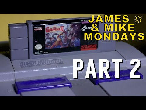 Super Castlevania IV (SNES) Part 2 - James & Mike Mondays