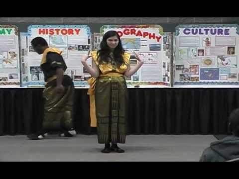 Southeast Asia and India for 2013 GA Folk Fair - Bindi and Demonstration