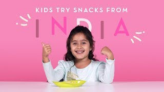 Kids Try Snacks from India   Kids Try   HiHo