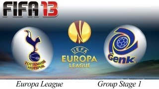 [TTB] FIFA 13 Europa League Highlights Vs Genk Group