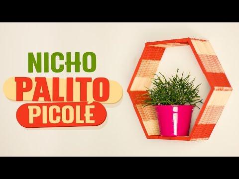 COLABOND - DIY: Nicho palito de picolé