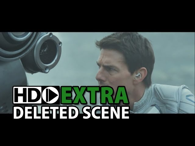 "Oblivion (2013) Alternative Scene ""Stadium Original Opening"""