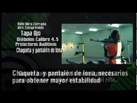 Tutorial tiro deportivo - Rifle de aire