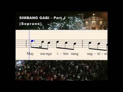 Q31a Simbang Gabi - Part J (Soprano)