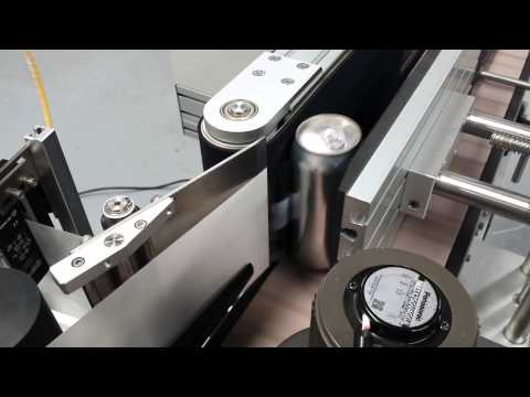 PL-501 Wrap Around Labeler - Wet Beer Can