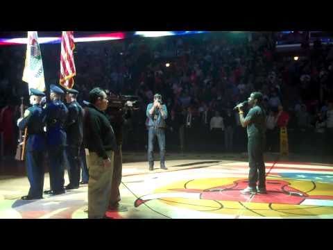 Chicago Bulls, National Anthem