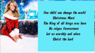 Mariah Carey One Child + Lyrics