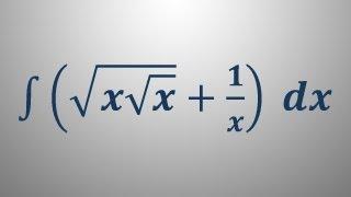 Nedoločeni integral 5