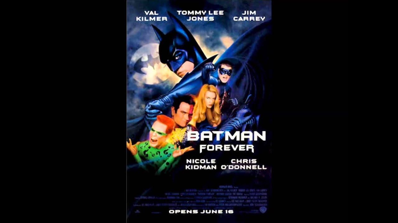 Batman forever kiss from a rose youtube
