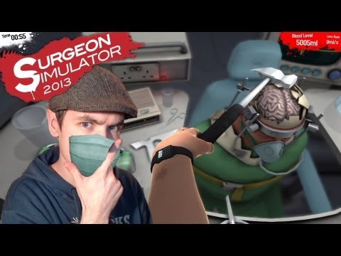 Surgeon Simulator 2013 - TRANSPLANTS FOR EVERYONE - Gameplay/Commentary