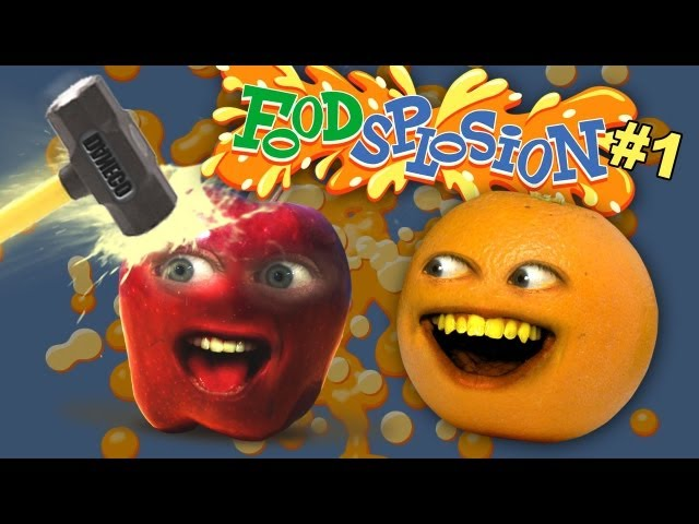 Annoying Orange - FOODSPLOSION #1!