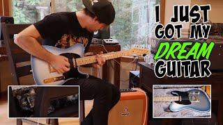 I just got my dream guitar!!