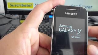 Como Insertar Memoria Micro Sd Samsung Galaxy Y Gt S5360